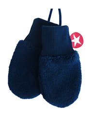 W14HMI13k | KIK-KID mittens plain fleece