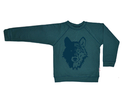 WOSWEAT/DGRE/W18 | BABA Sweater wolf