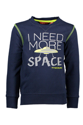 X808-6306 | TYGO & vito sweater solid I NEED MORE SPACE