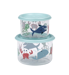 SBA1057 | Sugar Booger Snack Containers (set of 2) Ocean