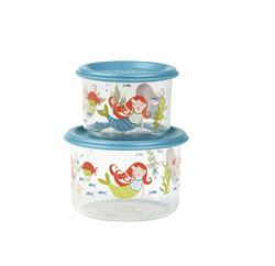 SBA1259 | Sugar Booger Snack Containers (set of 2) Isla the Mermaid