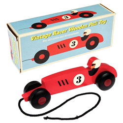 28122 | REX INT. Vintage Race pull Toy