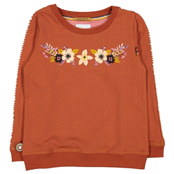 18W4587 | 4FF sweater Flowershop-Forget Me Not