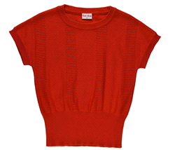 KNITSHIRT/RED/S19 | BABA Knitted shirt