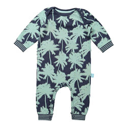 42A-31071 | CHARLIE CHOE Baby jumpsuit PALMS AND WAVES