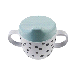 DD-10556 | DONE BY DEER dots 2 handle spout cup