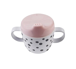 DD-10557 | DONE BY DEER dots 2 handle spout cup