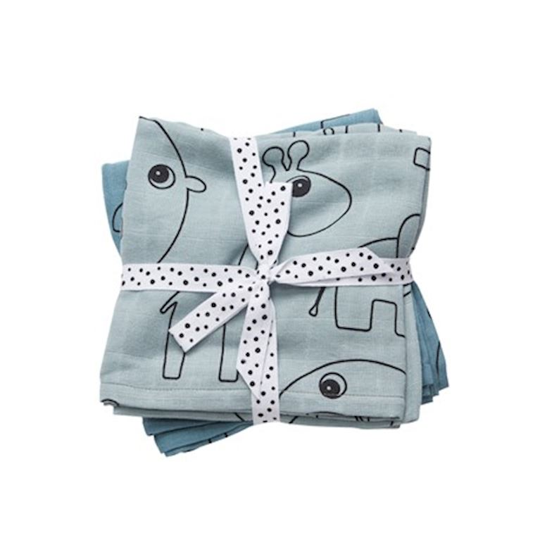 DD-30692 | DONE BY DEER Swaddle, 2-pack (120x120cm)