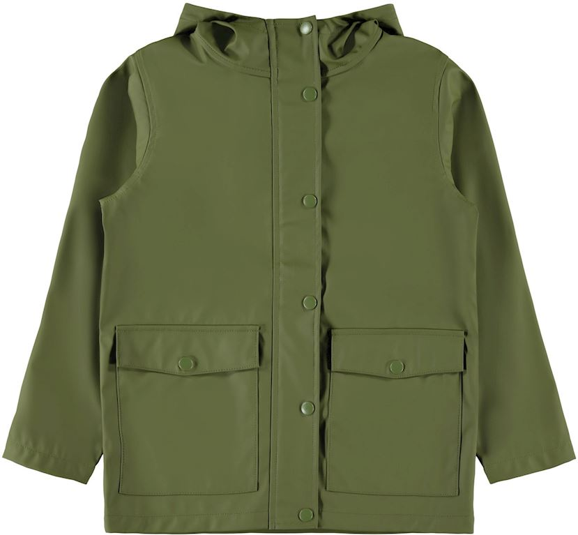 13173047 | NAME IT Mil Rainjacket