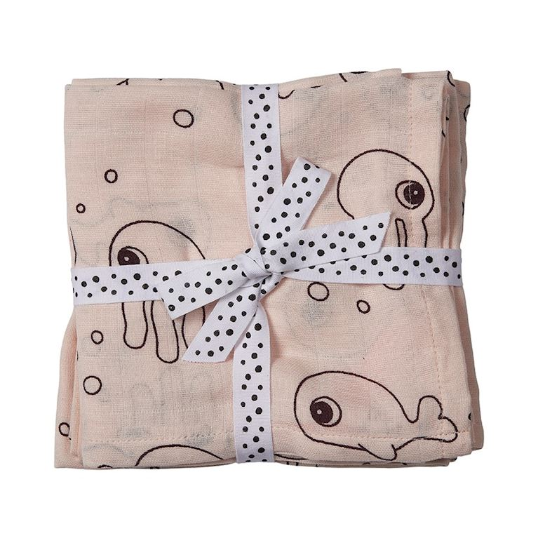 DD-3103161 | done by deer Swaddle, 2-pack, Sea friends