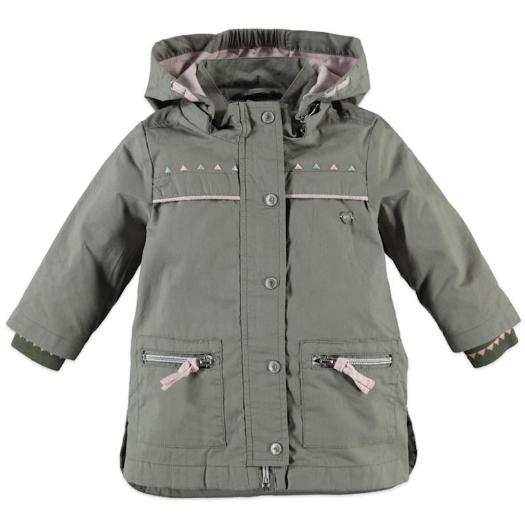 9108101 | girls summer parka